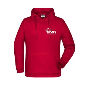 Cian's Kennels Hoodie (Red)